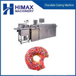 Автоматическая круглые покрытие шоколад конфеты Enrobing машины