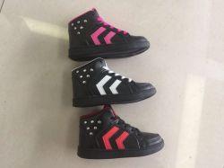 Nouveau design de mode High-Top canevas de l'école les enfants de chaussures de loisirs
