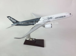 A350 neue Airbus Haus-Farbe Polyresin flaches Modell
