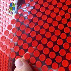 Pés de borracha de silicone à prova de choques pastilhas de 3m Sticky Anti Slip