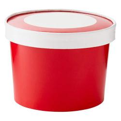 Plastikformteil für Eiscreme-Wannen-Eimer mit Kappe und Griff