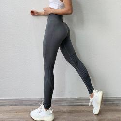 Estilo quente cor pura Nine-Point Calças de ioga coxa exercício de oco do vestuário de ioga Fitness