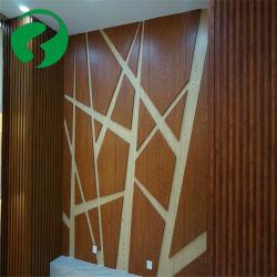 클래식 WPC 대나무 목재나무 섬유 통합 벽판 WPC 벽 패널 방수 및 방화 기능을 갖춘 건축 자재