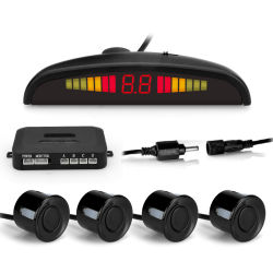 3 Couleur voiture& avant affichage LED arrière du système de capteurs de stationnement avec 4/6/8 des capteurs en option