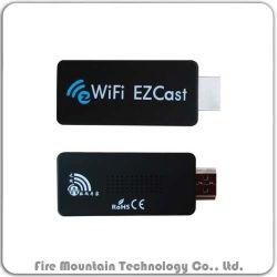 C1 Ezcast inalámbrico WiFi iPad iPhone iPod a la gran pantalla HDMI