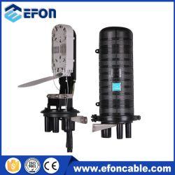Grande capacidade de 1 em 4 Tipo de tampa do gabinete de ligação de fibra óptica