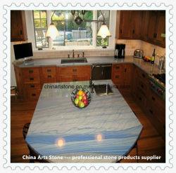 Het Natuurlijke Blauwe Kwarts van de luxe, Graniet, Marmeren Countertop voor het Project van de Keuken
