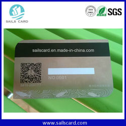 Personalisierte OEM-Business Metal Card mit Gravur