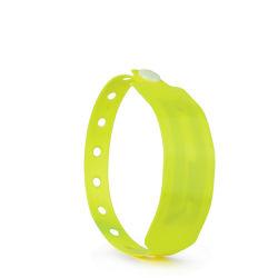 Wegwerfnähe-Karte RFID Identifikation-Chip Kurbelgehäuse-Belüftungwristband-Armband
