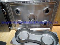 Precisão personalizada de um único processo de morrer de Estampagem ou Ferramenta para estampada ou peças de perfuração do fogão a gás com SUS304