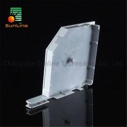 ローラーシャッター部品のアルミ合金の圧延シャッターブラインドのサイドフレーム
