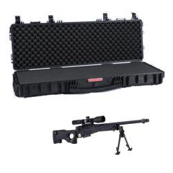 Bewegliches pp. Plastikgewehr-harte Gewehr-Geräten-Kästen der hohen Sicherheits-mit Schaumgummi