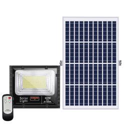 LED populares luminária de Luz do Holofote Solar 25W 40W 60W 100W, a Luz de Segurança Solar exterior, Lanterna Holofote Solar/Projector Inundação Solar para jardim
