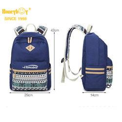 مصنع تصميم أزياء عالية الجودة الأطفال الفتيات طباعة قماش رولينج حقيبة الظهر الخاصة بطباعة حقيبة الظهر