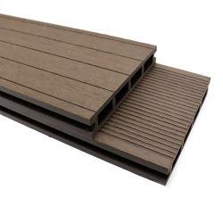 Material de construção de pavimentos de madeira composto de plástico pressionado Alfresco deck de madeira