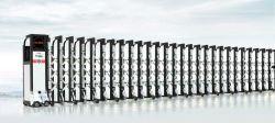 As vendas de fábrica automática de alumínio Capota Eléctrica Industrial Portão de segurança