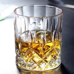 كأس كريستال جلاس وويسكى كلاسيك وابر زجاجية مشروبات زجاجية من أجل النبيذ والمياه وعصير وكؤوس مشروبات