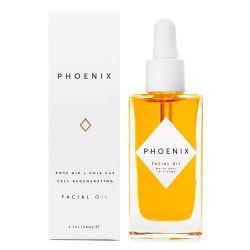 La belleza natural antienvejecimiento Briightening Phoenix de la piel Aceite facial