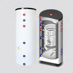 Bobina doble depósito de Agua Caliente Solar