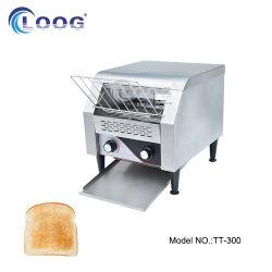 Pequeno-almoço profissionais do Hotel Restaurante Baker Sanduíche Equipamento Burger forno eléctrico de padaria fina de aço inoxidável do Transportador de máquinas de pão torradeira