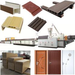 PP/PE PVC WPC الخشب البلاستيك المركب إزالة سطح الجدار الإطار ولوحة الباب تجعل الماكينة نافرة