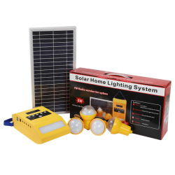 As lâmpadas de LED de iluminação doméstica Solar Kits com luzes de parede