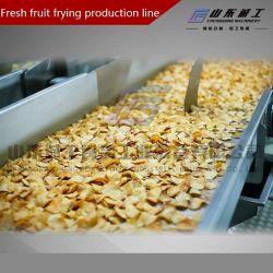Automático Contínuo Fritadeira / Máquina de fritura de batatas fritas