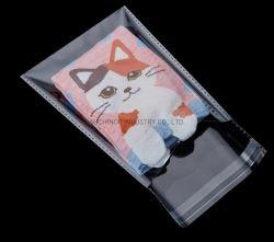 Freier wiederversiegelbarer Cellphone/BOPP/Poly transparenter OPP Beutel, der Plastiktasche-selbstklebende Dichtung packt