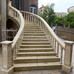 Granito Baluster beige amarillo para escaleras Escalera//balcón o porche de entrada/pasos