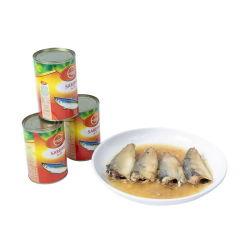 La Chine Sardine en conserve du poisson en sauce tomate/Oil/saumure