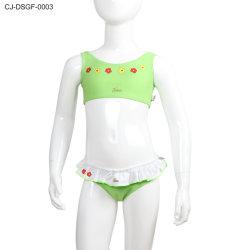 Soem-Karikatur-Entwurfs-zweiteiliger Strand-Kind-Mädchen-Badebekleidungs-Badeanzug