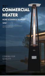 Werksversorgung Butan- oder Propangaspulverbeschichteter Eisenturm Quarzrohr-Terrassenheizung