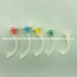 Guedel Oral descartáveis médicos tubo das vias aéreas