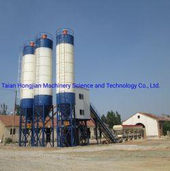 Hzs60 60cbm/H Wet Ready Mix mezcla de concreto premezclado Precio de la planta de proceso por lotes