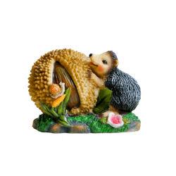 2020 Nuevo diseño de la resina de animales de artesanía popular erizo