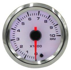 52mm de 7 colores Camión Coche Universal Digital LED indicador de presión de aceite