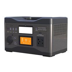 Batería de litio UPS generador de energía solar portátil de copia de seguridad de 500 W Power UPS para acampar al aire libre