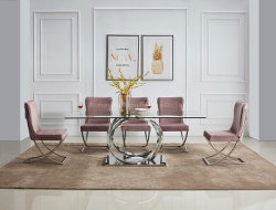 Glass Marble Top를 가진 새로운 Design Dining Table