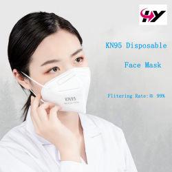 KN95/N95/FFP2 Resucitación desechables de Eficiencia de filtración de un 99% Pfe Máscara protectora