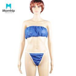 De PP mulheres camisas Non-Woven descartáveis Sexy Tanga G-String em roupas íntimas de lingerie descartável