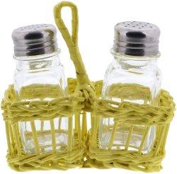 100ml en verre bouteille d'épice définie avec bouteille de verre d'échafaudage de bambou Spice défini pour l'utilisation de l'hôtel