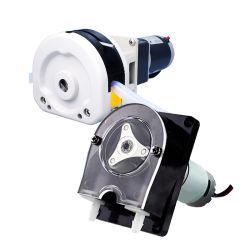 Dispensação de enchimento de laboratório OEM dispensador de tubo de borracha do tubo de borracha Mini 12v pequena bomba peristáltica 24V