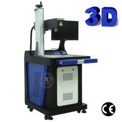 Все в одном 3D помощи лазерной гравировки маркировки машины для металлические пластмассовые