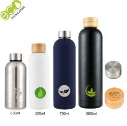 500ml sin BPA 18/8.304 Al por mayor de acero inoxidable de doble pared del vaso de agua termal Matraces de vacío
