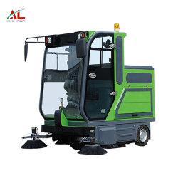 AlCLの産業電気掃除人の電気屋外の道掃除人の電気真空の道掃除人