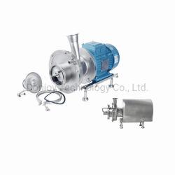 Schleuderpumpe des Wasser-CIP mit Flansch-Gewinde-Verbindungsstück-Anschluss