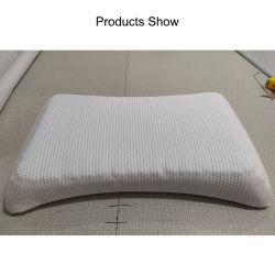 Lit personnalisé Sleep Wedge Contour Orthopédie papillon forme oreillers côté Oreiller en mousse à mémoire de forme cervicale anti-Snore