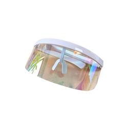 Lunettes de protection de la couleur de l'oeil, Anti-Peeping écran facial avec Goggle, la mode des lunettes de protection