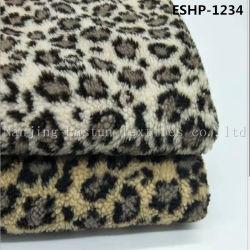 100%年のポリエステルジャカードのどのSherpaの毛皮Eshp-1234