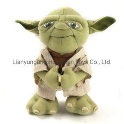 Yoda のプラシ天のおもちゃの注文のカートゥーンの柔らかい贅沢な人形は子供のために ギフト